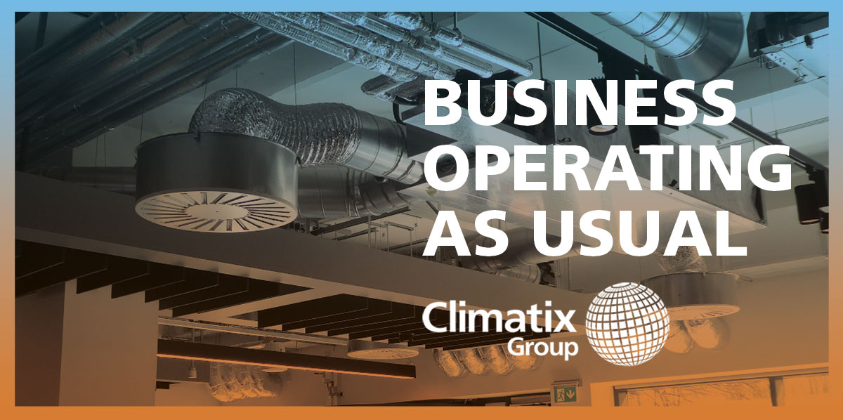 Climatix 'Operating Business As Usual'